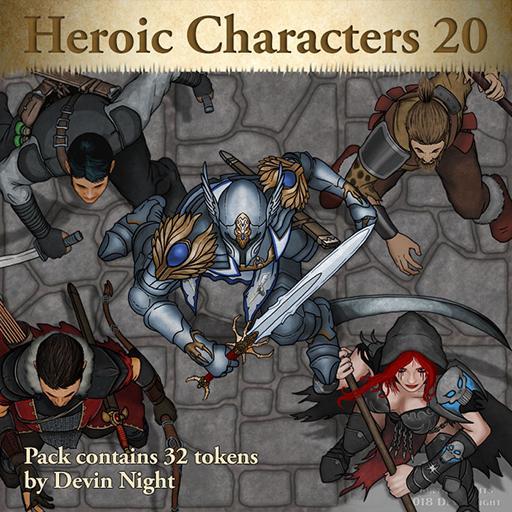 105 - Heroic Characters 20
