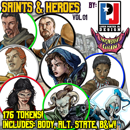 Saints & Heroes, Vol. 1