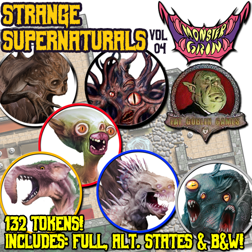 Strange Supernaturals, Vol. 4