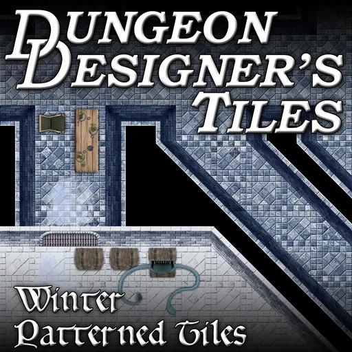 Dungeon Designers Tiles - Winter Patterned Tiles