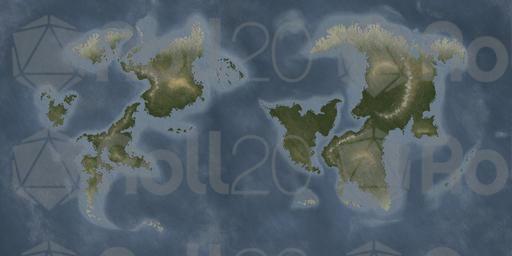 Jans Fantasy World Map 1 | Roll20 Marketplace: Digital goods for