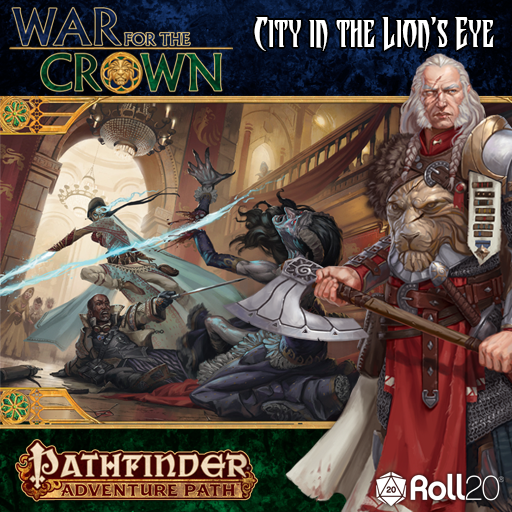 City in the Lion's Eye (War for the Crown 4)