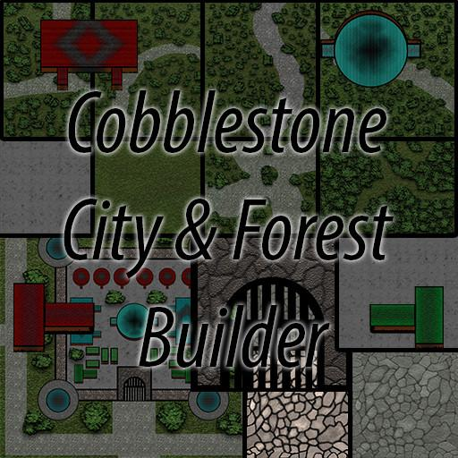 Cobblestone Forest & City Builder