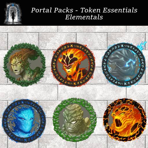 Portal Packs - Token Essentials - Elementals