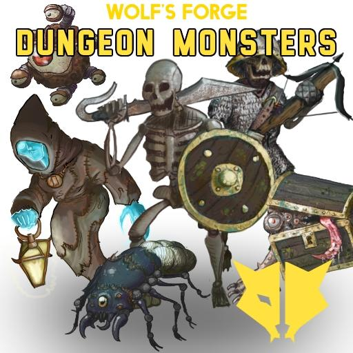 Fantasy creatures: Dungeon Monsters