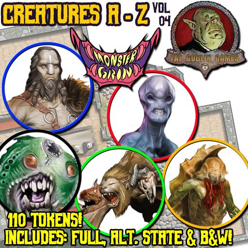 Creatures A-Z, Vol. 4