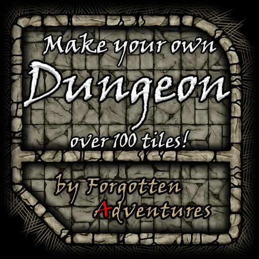 Make your own Dungeon, Tile Set Pack