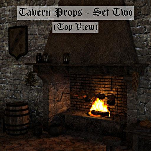 Tavern set (Top Down): Set Two