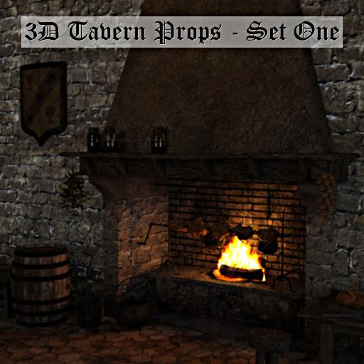 3D Tavern Props: Set one