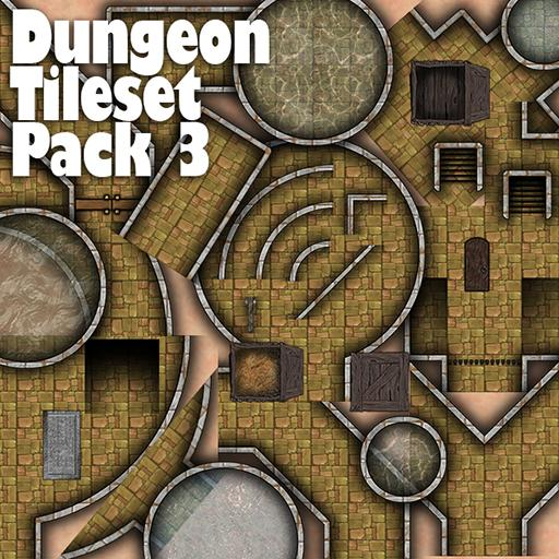 Dungeon Tile Set pack 3