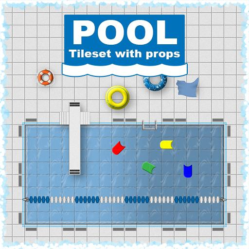 Pool Tileset and Props