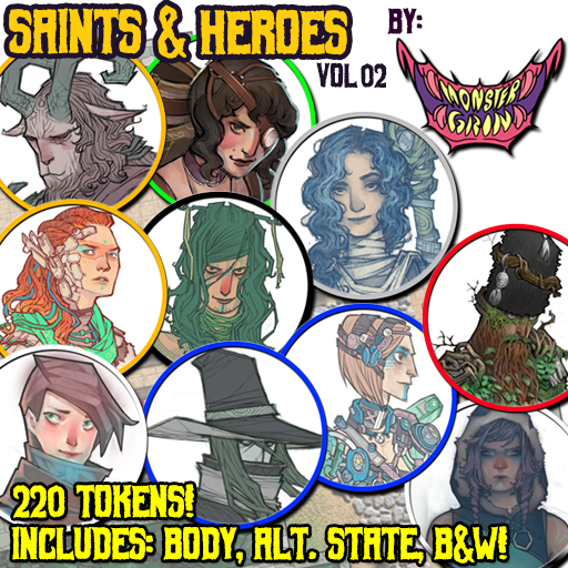 Saints & Heroes, Vol. 2