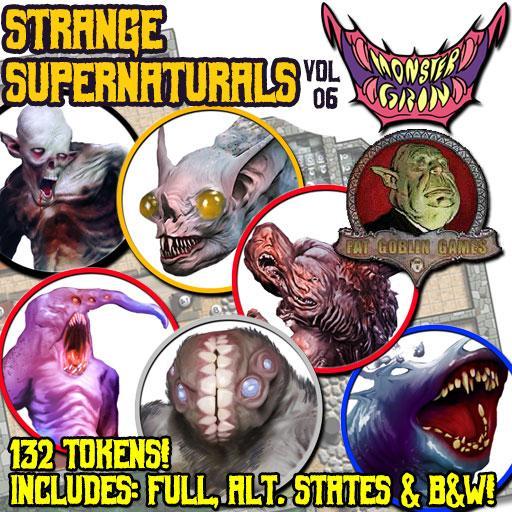 Strange Supernaturals, Vol. 6