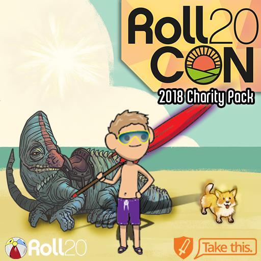 Roll20CON 2018 Charity Pack