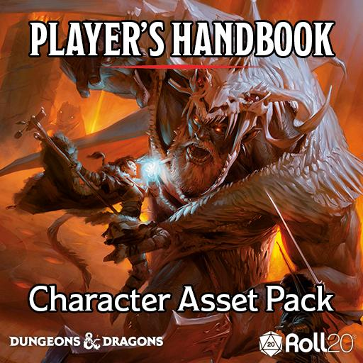 Player's Handbook Character Asset Pack