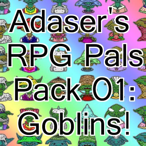 Adaser's RPG Pals Pack 01
