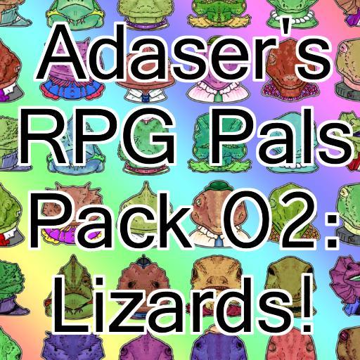 Adaser's RPG Pals Pack 02