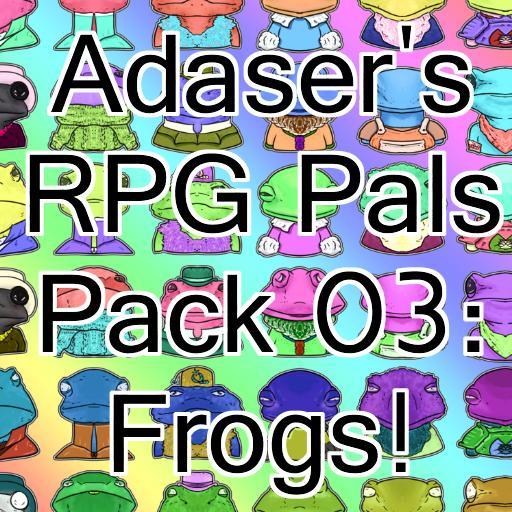 Adaser's RPG Pals Pack 03