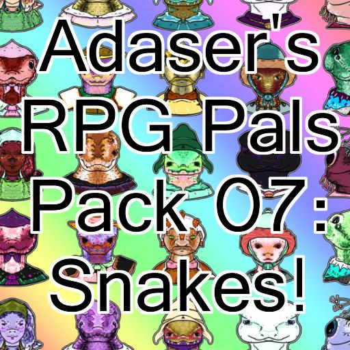 Adaser's RPG Pals Pack 07