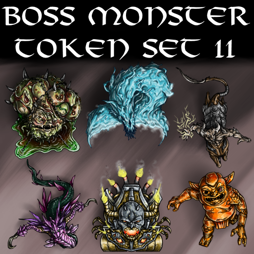 Boss Monster Token Set 11