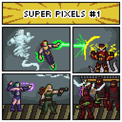 Super Pixels #1
