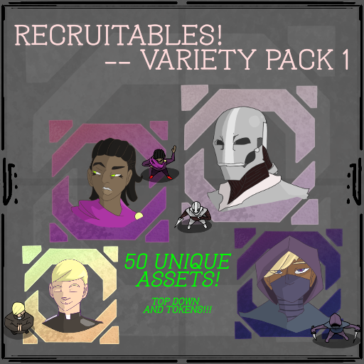 Recruitables -- Variety Pack 1