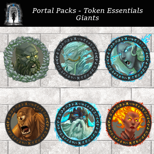 Portal Packs - Token Essentials - Giants