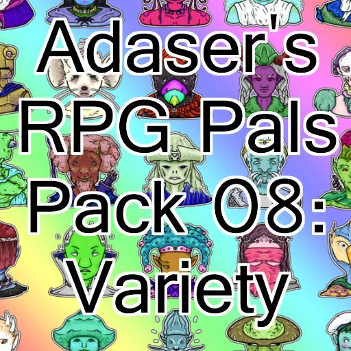 Adaser's RPG Pals Pack 08