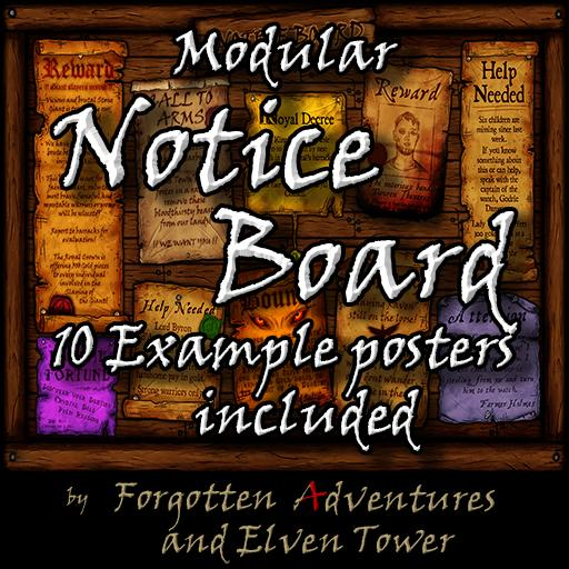 Modular Notice Board