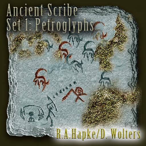 Ancient Scribe Set 1: Petroglyphs