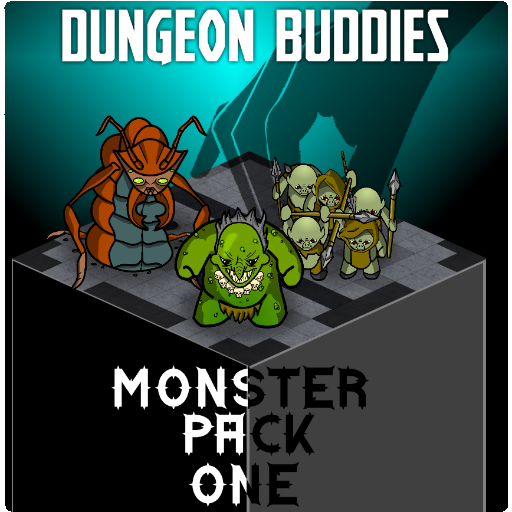Dungeon Buddies Fantasy Tokens - Monster Pack One