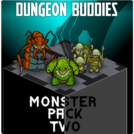 Dungeon Buddies Fantasy Tokens - Monster Pack Two