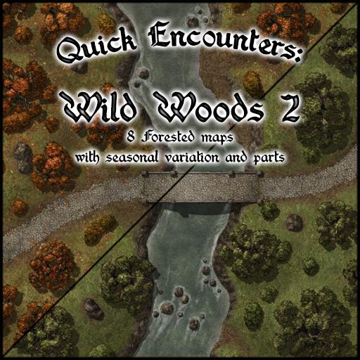 Quick Encounters: Wild Woods 2