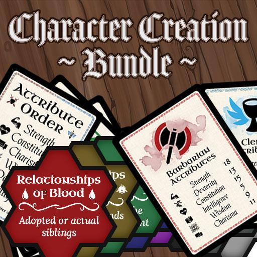 Character Creation Bundle
