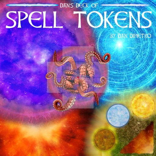 Dan's Deck of Spell Tokens