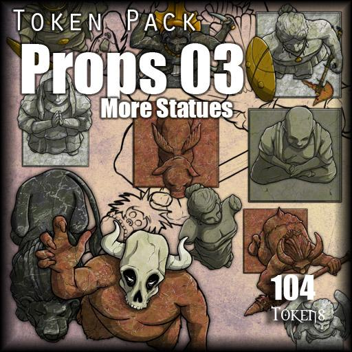 Props 03 - More Statues