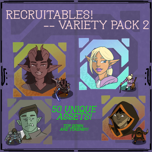 Recruitables - Variety Pack 2