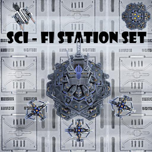 Sci-Fi Station Set