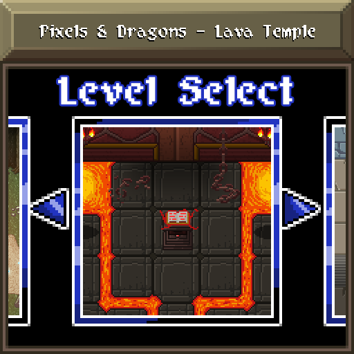 Pixels and Dragons - Lava Temple