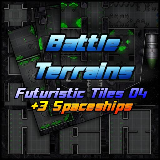 Battle Terrains Futuristic Tiles 04