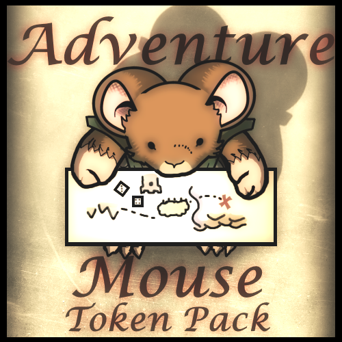 Adventuring Mouse Token Pack