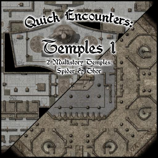Quick Encounters: Temples 1