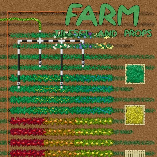 Farm Tileset and Props