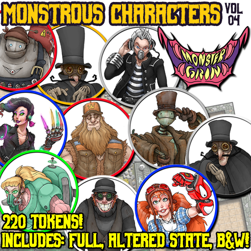 Monstrous Characters, Vol. 4