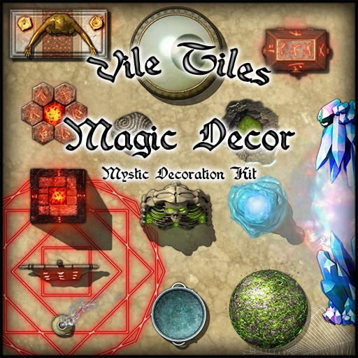 Vile Tiles Magic Decor