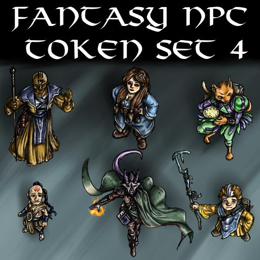 Fantasy NPC Token Set 4
