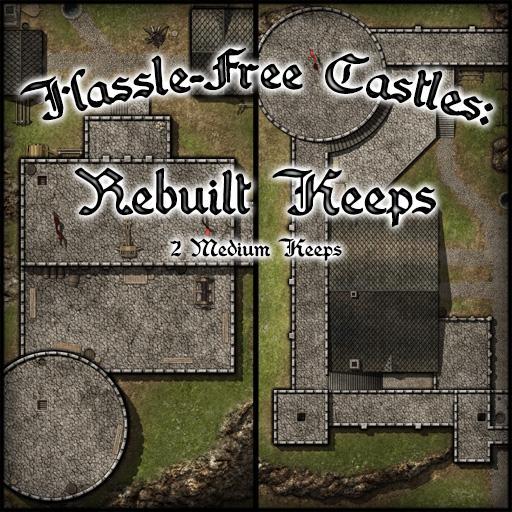 Hassle-free Castles: Rebuilt Keeps