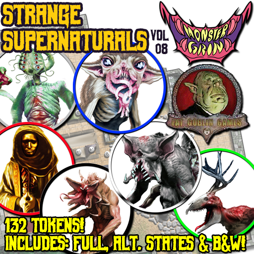 Strange Supernaturals, Vol. 8