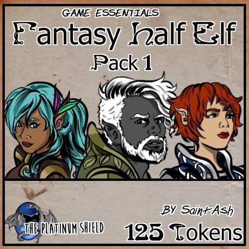 Half Elf Fantasy Pack 1