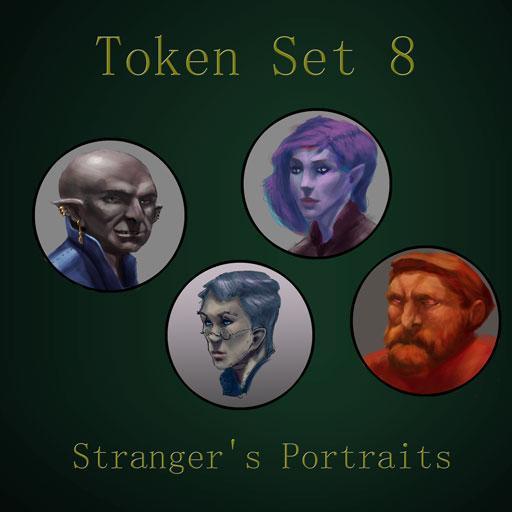 Token Set # 8 Stranger's Portraits